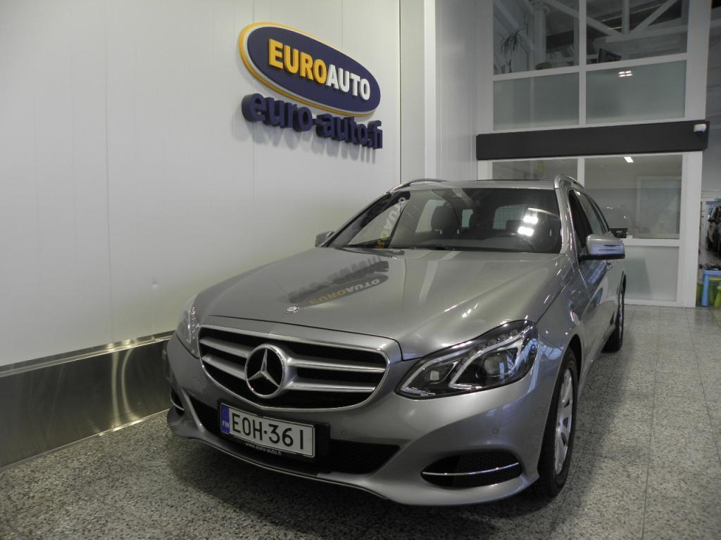 Mercedes-Benz E 200 BlueTec Touring Aut. Avantgarde Premium Business,  NAVI,  KATTOLUUKKU,  ILS,  KAUKOVALOAVUSTIN,  SÄHKÖINEN TAKALUUKKU,