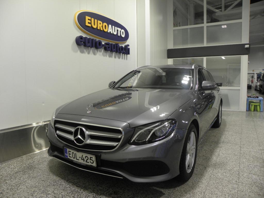 Mercedes-Benz E 220 d 194hv T A Premium Business,  SIS.ALV. SUOMI AUTO,  NAHAT,  NAVI,  BLUETOOTH,  USB,  CRUISE,  PERUUTUSKAMERA,  VALMIS TAKSI