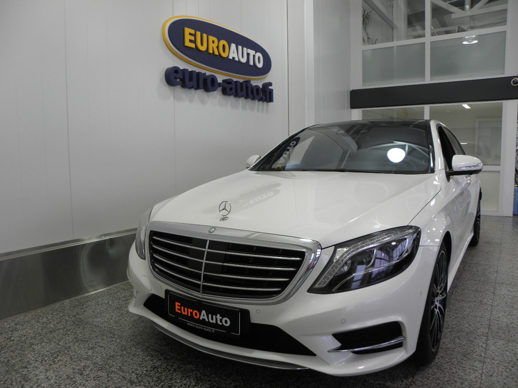 Mercedes-Benz S 500 Plug-In Hybrid L AMG PLUS,  SIS. ALV. HELMIÄISVALKOINEN,  BURMESTER,  HEAD-UP,  PANORAMA,  ILS,  NAHAT,  ISTUIN TUULETUS