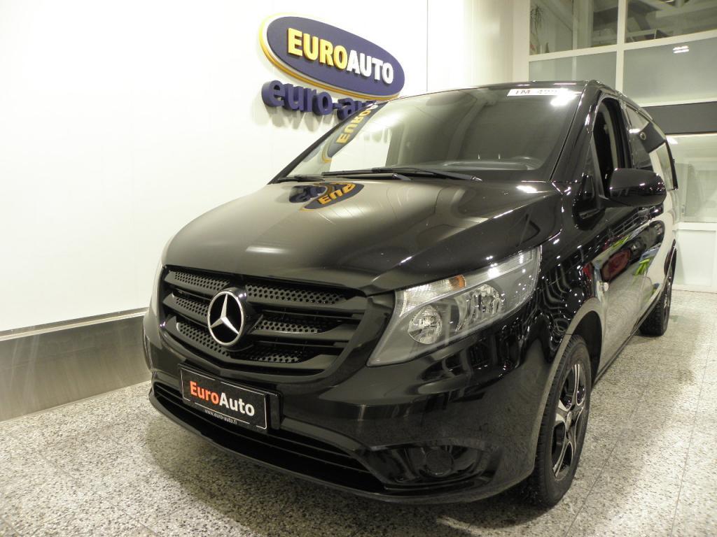Mercedes-Benz Vito 114CDI keskipitkä A2 Aut. SIS. ALV. HUIPPU SIISTI,  WEBASTO,  AUX,  USB,  CRUISE,  BLUETOOTH,  KAHDET RENKAAT,  VETOKOUKKU