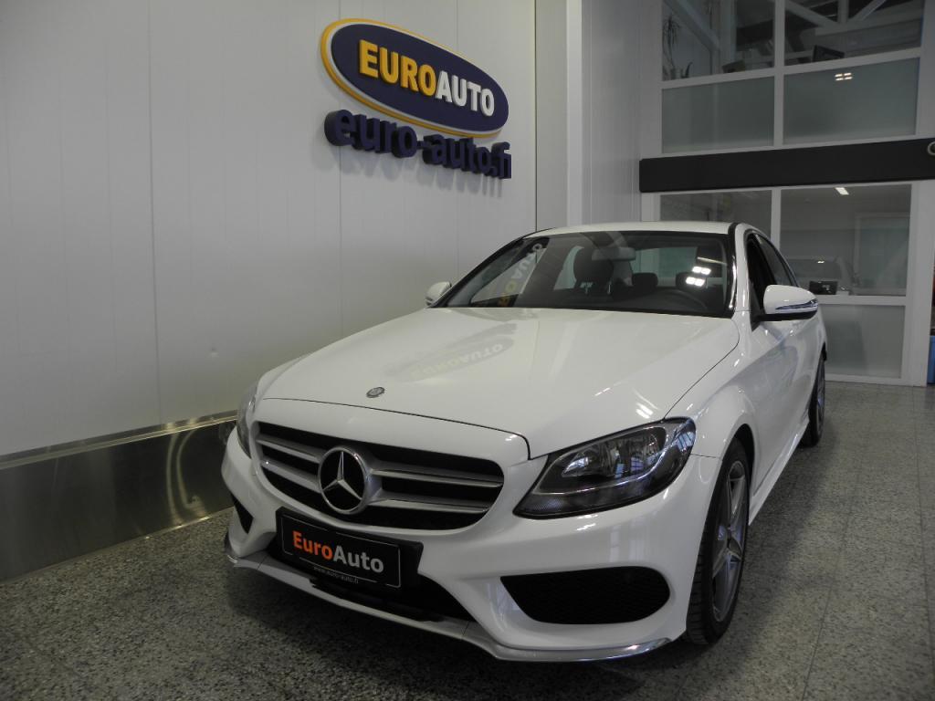 Mercedes-Benz C 220 170hv d A AMG Line SIS.ALV. NAHAT,  18 AMG VANTEET,  AMG ULKOPAKETTI,  BLUETOOTH,  CRUISE,  USB,  DYNAMIC SELECT,