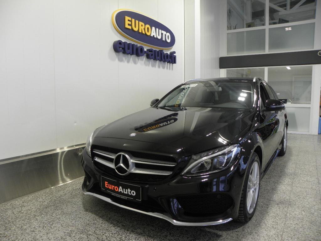Mercedes-Benz C 220 d T 4Matic A AMG Styling,  WEBASTO,  LED HIGH PERFORMANCE,  VETOKOUKKU,  BLUETOOTH,  CRUISE,  USB,  KAHDET RENKAAT
