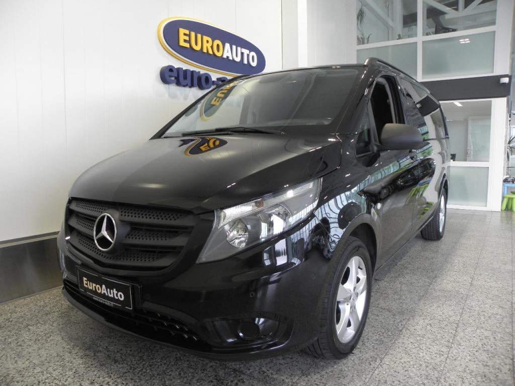 Mercedes-Benz Vito 119CDI 190hv keskipitkä A2 Aut. SIS.ALV. EDITION 1,  HUIPPU HIENO METALLIMUSTA,  WEBASTO,  CRUISE,  BLUETOOTH,  KOUKKU,  ALUT.