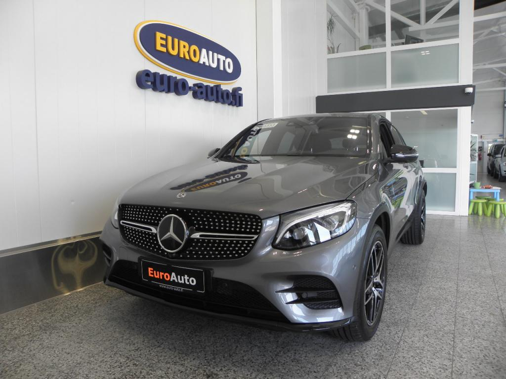 Mercedes-Benz GLC 350 e Coupé 4Matic A Premium Business AMG Styling SUPER VARUSTEILLA,  SIS.ALV. DESIGNO,  HEAD-UP,  BURMESTER,  360 KAMERA