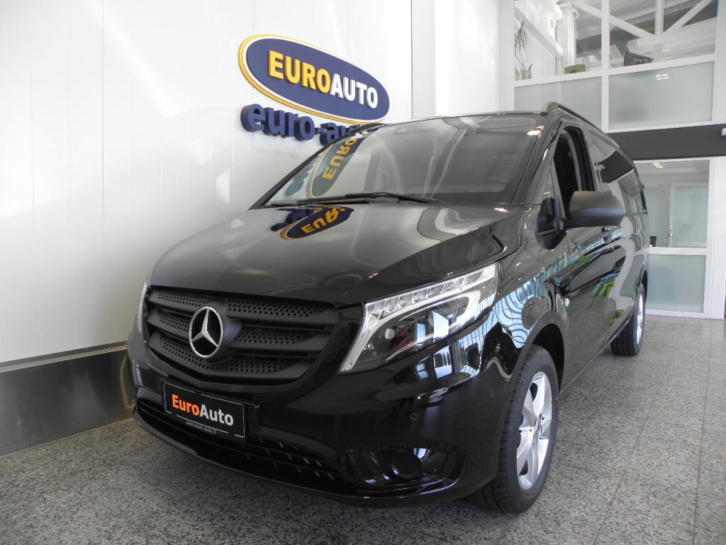 Mercedes-Benz Vito 119CDI 190hv 4x4 keskipitkä A2 A EDITION 1,  SIS.ALV. KUIN UUSI HUIPPU VARUSTEILLA,  WEBASTO,  NAVI,  LED ILS,  NAHAT,  CRUISE