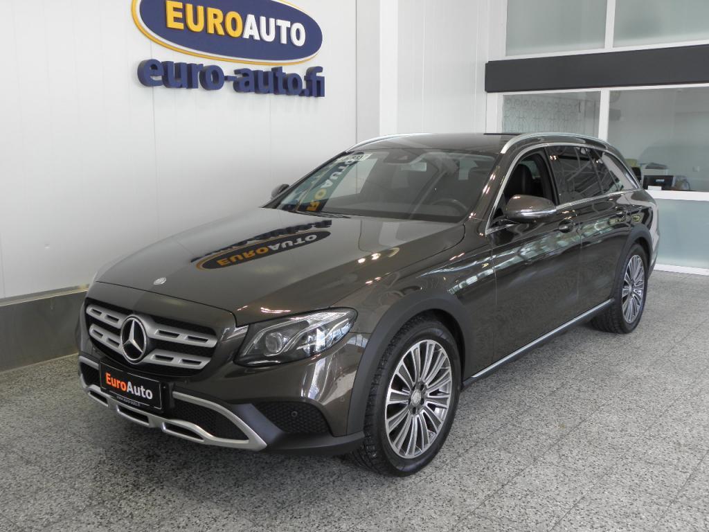 Mercedes-Benz E 220 d 4Matic T A All-Terrain,  VARUSTELTU,  VÄHÄN AJETTU,  MULTIBEAM,  360 KAMERA,  NAVI,  WEBASTO,  BLUETOOTH,  VETOKOUKKU,  USB