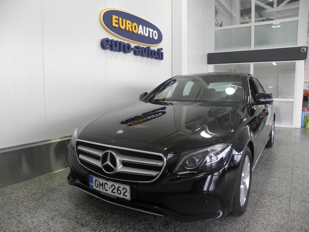 Mercedes-Benz E 220 d 194hv Aut. Premium Business SIS. ALV. SUOMI AUTO,  USB,  NAVI,  PERUUTUSKAMERA,  KATTOLUUKKU,  BLUETOOTH,  MULTIBEAM LED
