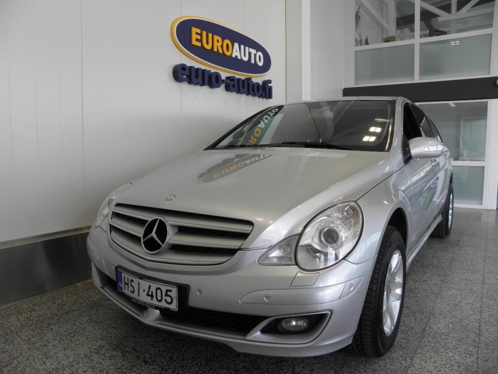 Mercedes-Benz R 320 CDI 4Matic Aut. 6-hengen,  NAHAT,  KATTOLUUKKU,  NÄYTTÖ,  NAVI,  CRUISE,  ISOFIX,  KAHDET RENKAAT,  VAIN 210? / KK
