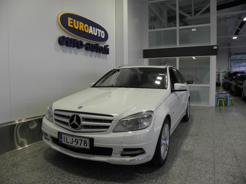 Mercedes-Benz C 250 CDI 204hv BE T Aut. Avantgarde,  NAVI,  KATTOLUUKKU,  ALUT. CRUISE,  BLUETOOTH,  KAHDET RENKAAT,  VETOKOUKKU,  TUMMENNUKSET