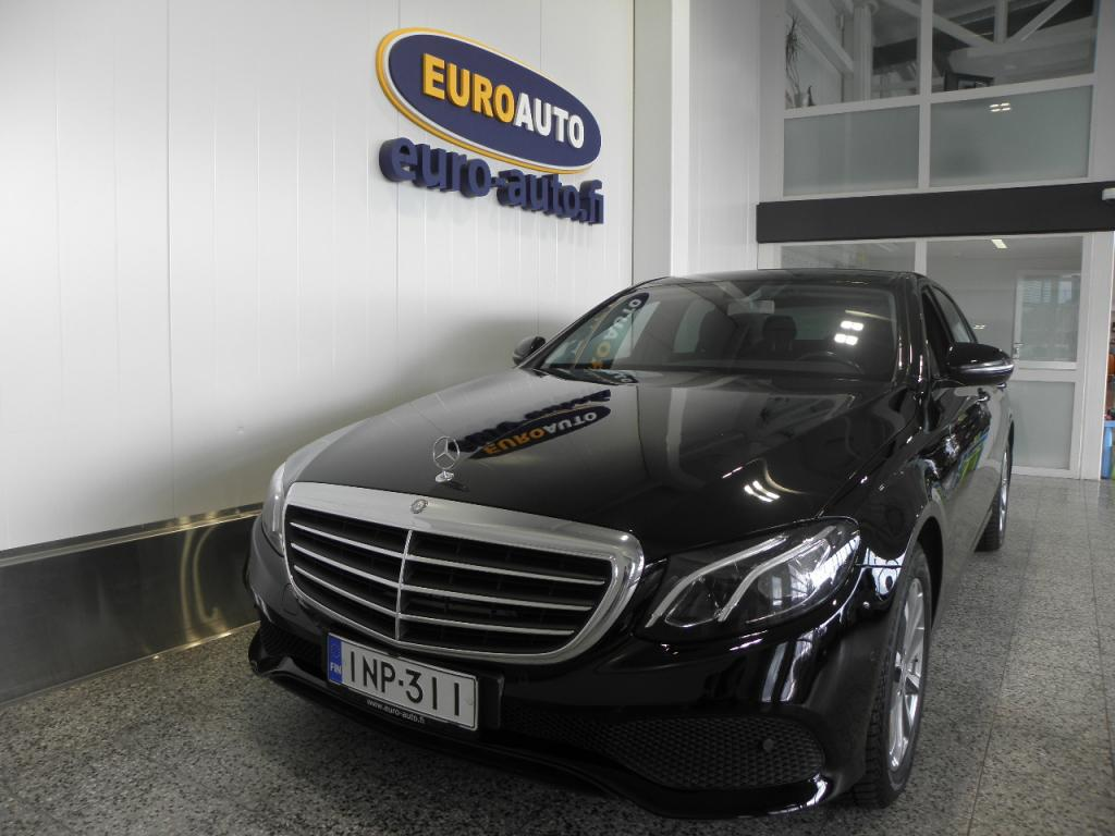 Mercedes-Benz E 220 d A Business SUOMI AUTO,  LED HIGH PERFORMANCE,  PERUUTUSKAMERA,  BLUETOOTH,  CRUISE,  USB,  RATTIVAIHTEET,  HUOLLETTU