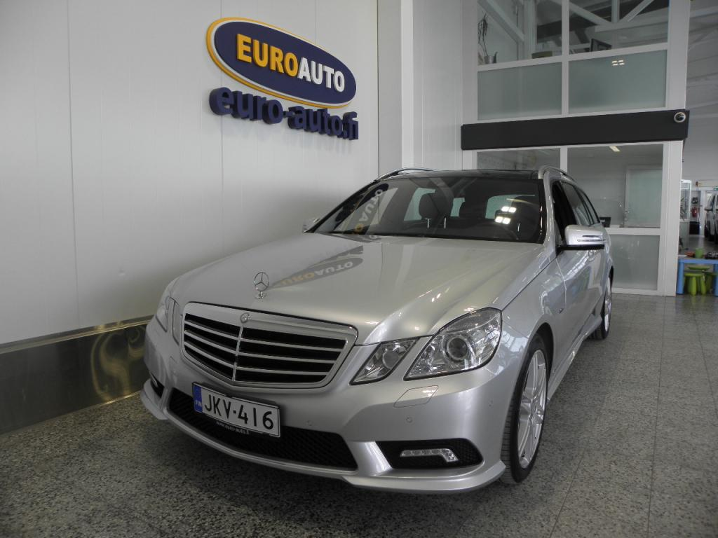 Mercedes-Benz E 350 CDI BE T 4Matic A AMG Styling Avantgarde,  NAHAT,  PANORAMA,  PERUUTUSKAMERA,  NAVI,  BLUETOOTH,  CRUISE,  KAHDET RENKAAT