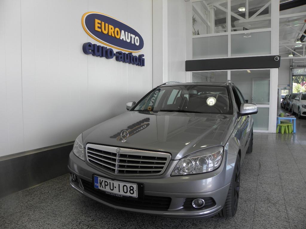Mercedes-Benz C 200 CDI Touring Elegance,  NAHAT,  CRUISE,  KAHDET RENKAAT,  LOHKIS,  ALUT. ISOFIX,  VAIN 145?/KK