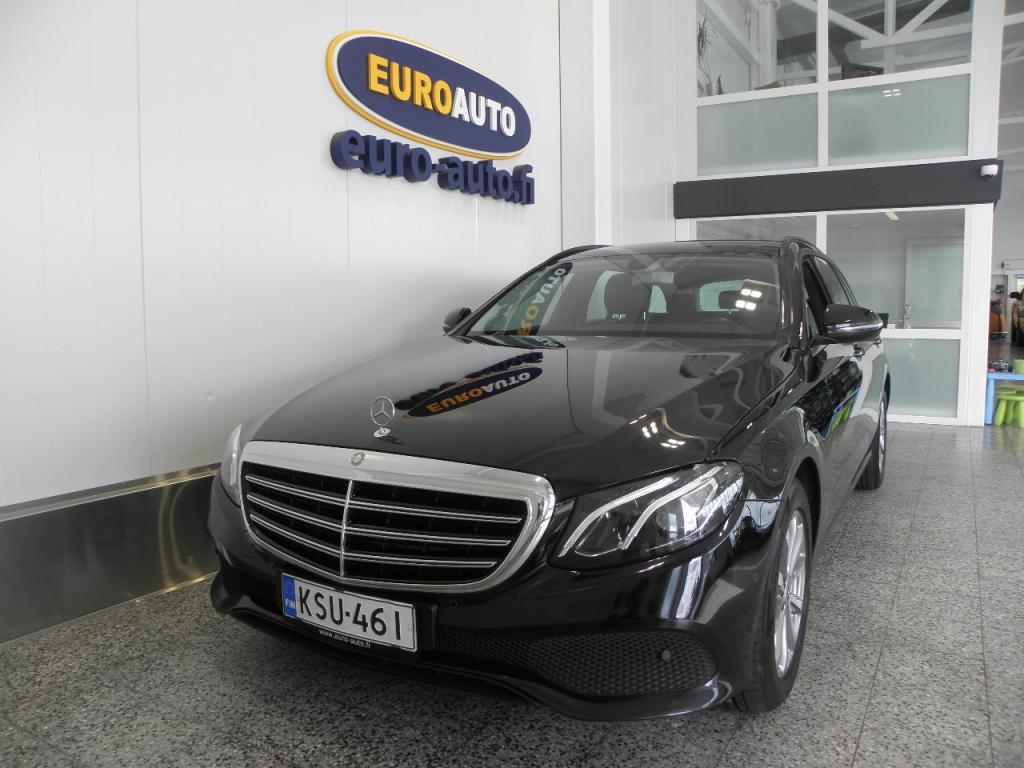 Mercedes-Benz E 200 d T A Pro,  ALVILLINEN,  KÄY VAIKKA TAKSIIN,  1.OMISTEINEN SUOMI AUTO,  NAHAT,  PERUUTUSKAMERA,  LED HIGH PERFORMANCE,  USB