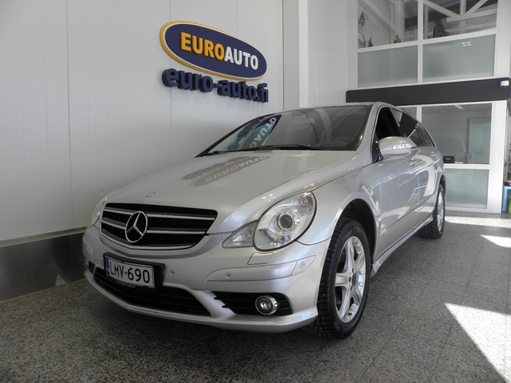 Mercedes-Benz R 320 CDI L 4Matic Aut. 7-hengen,  VAIN 250? / KK,   20 TUUMAN ALUT. NAVI,  XENON,  BLUETOOTH,  CRUISE,  ISOFIX,  KATTOLUUKKU