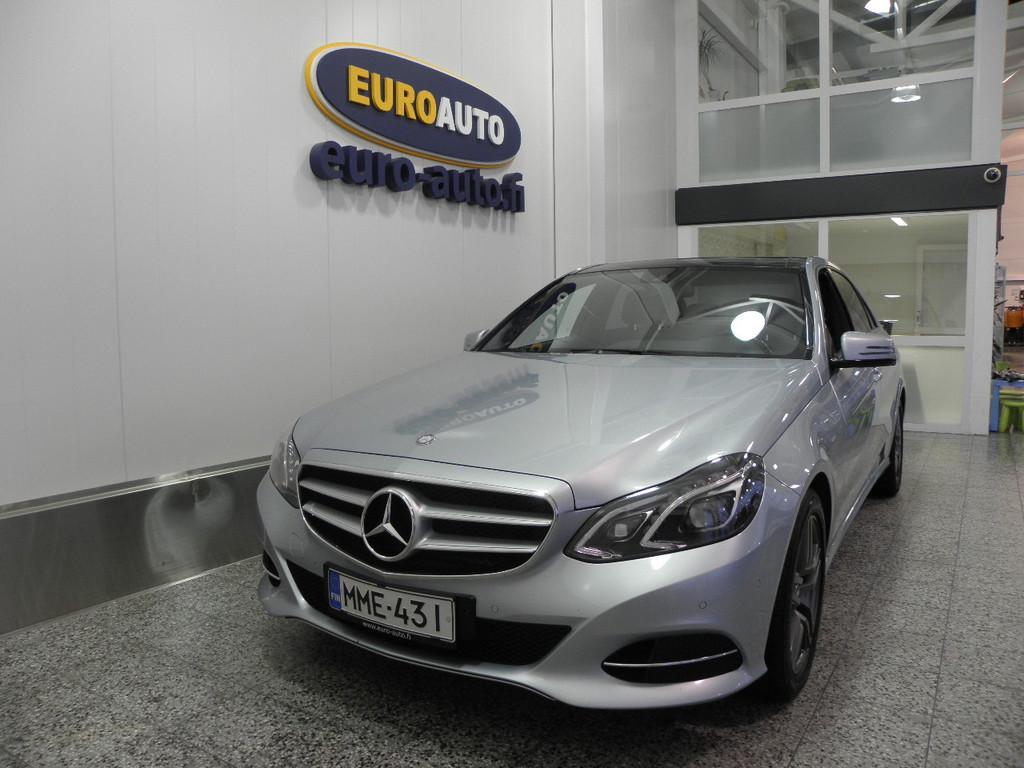 Mercedes-Benz E 200 CDI BE A Premium Pro,  SUOMI AUTO,  WEBASTO,  PANORAMA,  AIRMATIC,  LED ILS,  NAHAT,  USB,  BLUETOOTH,  KAHDET RENKAAT