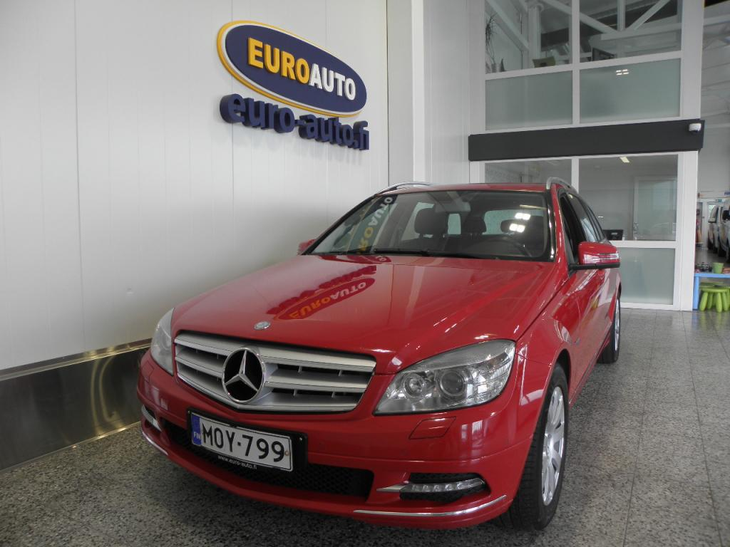 Mercedes-Benz C 220 CDI BE T Aut. Avantgarde Premium Business SUOMI AUTO,  WEBASTO,  CRUISE,  BLUETOOTH,  VETOKOUKKU,  ALUT. KAHDET RENKAAT