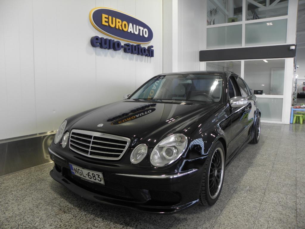 Mercedes-Benz E 270 CDI Aut. Avantgarde,  NÄYTTÄVÄ TUNINGKORISARJA,  PIONEER,  SUBWOOFERIT,  KATTOLUUKKU,  18 TUUMAN ALUT. XENON,  CRUISE