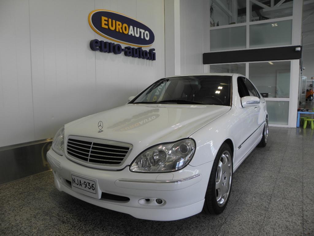 Mercedes-Benz S 320 A CARLSSON,  HUIPPU SIISTI,   19 TUUMAN CARLSSON VANTEET,  NAHAT,  KATTOLUUKKU,  CRUISE,  AUTOMAATTINEN ILMASTOINTI