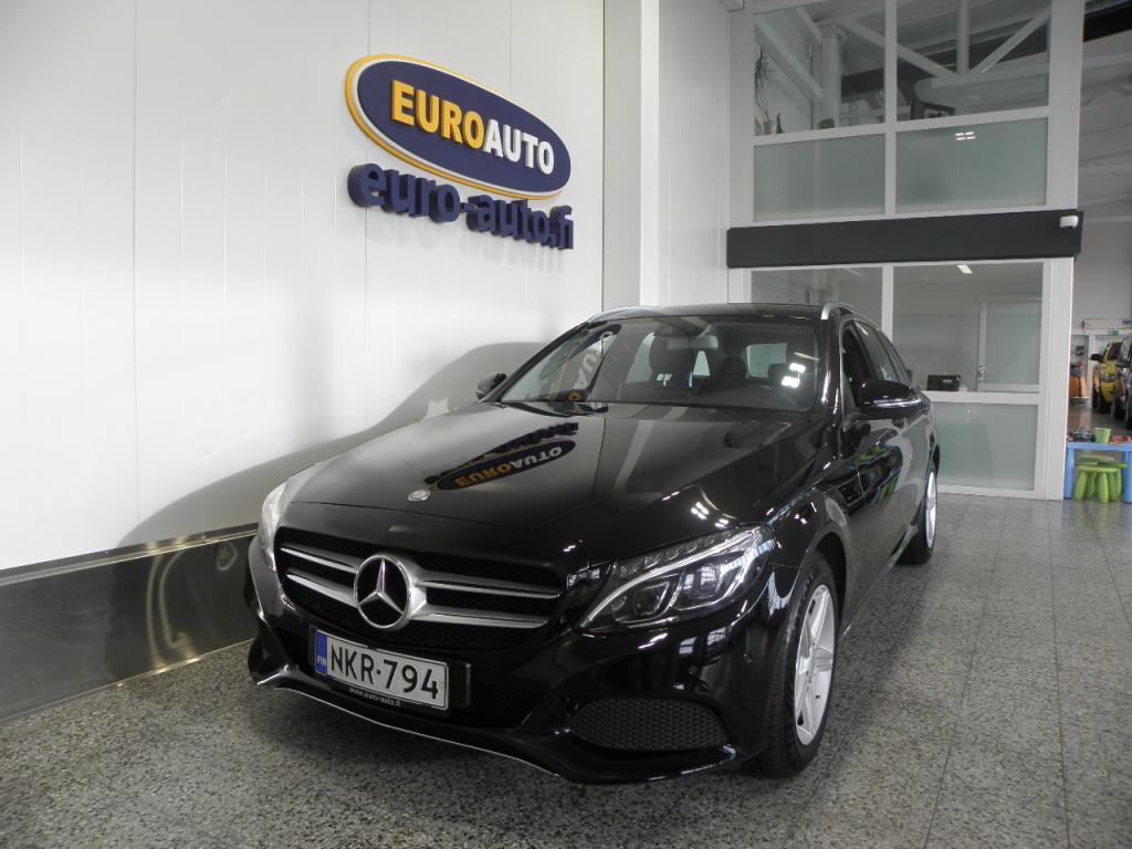 Mercedes-Benz C 200 d T Aut. Premium Business,  SIS.ALV. SIISTI SUOMIAUTO,  KÄY VAIKKA TAKSIIN,  ADAPTIIVINEN KAUKOVALOAVUSTIN,  USB,  ILS
