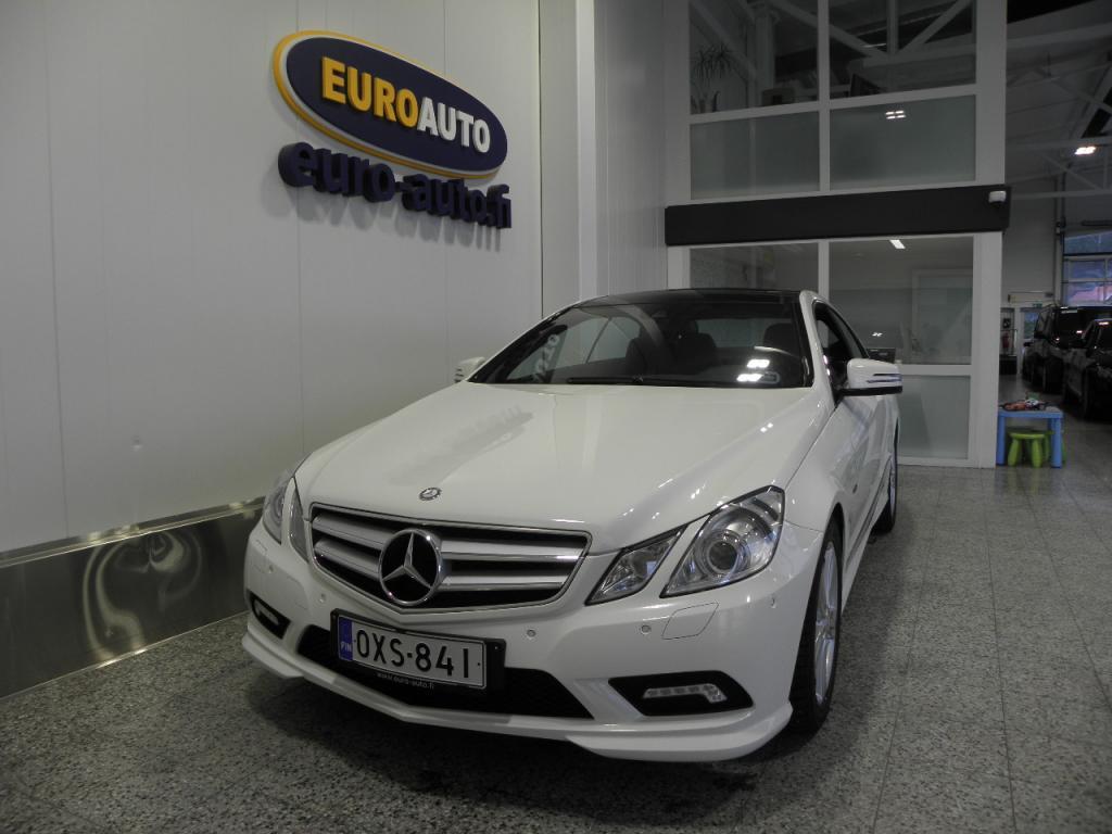 Mercedes-Benz E 250 CGI BE AMG Coupé Aut. HUIPPU HIENO AMG,  PANORAMA,  NAHAT,  BLUETOOTH,  XENON,  18 TUUMAN ALUT. AUX,  CRUISE,