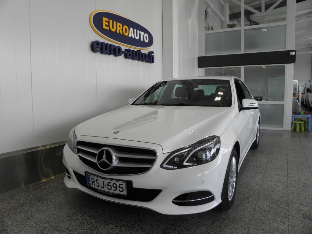 Mercedes-Benz E 200 BlueTec A Premium Business,  SIS.ALV. SUOMI AUTO, EURO 6,  KÄY TAKSIKSI,  NAHAT,  ORTTOPEDI,  ILS,  BLUETOOTH,  CRUISE,  USB