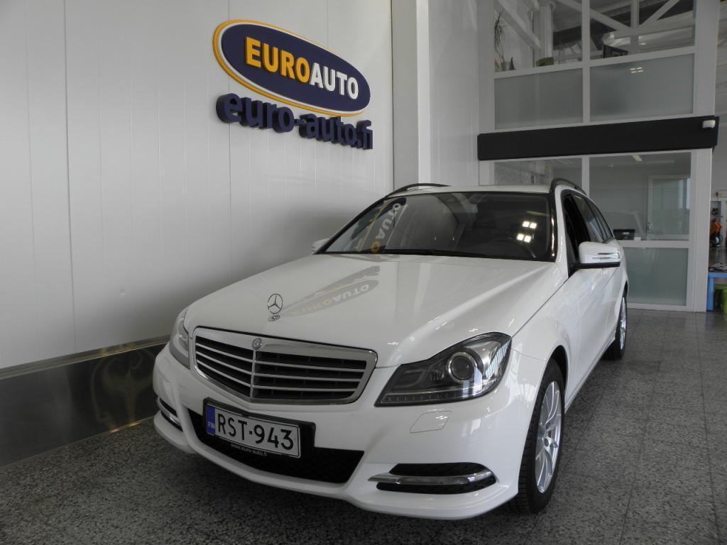 Mercedes-Benz C 200 CDI BE T Aut. NAVI,  PERUUTUSKAMERA,  ALUT. CRUISE,  BLUETOOTH,  INTELLIGENT LIGHT SYSTEM,  KAHDET RENKAAT,  VAIN 250?/KK