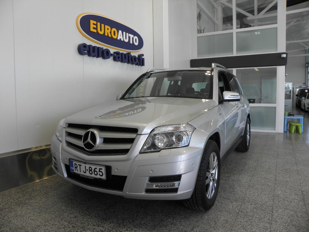 Mercedes-Benz GLK 250 CDI BE 4Matic A Premium Business Sportti paketilla,  SIISTI NELIKKO VAIN 310e/KK,  CRUISE,  AUX,  XENON,  LED,  BLUETOOTH