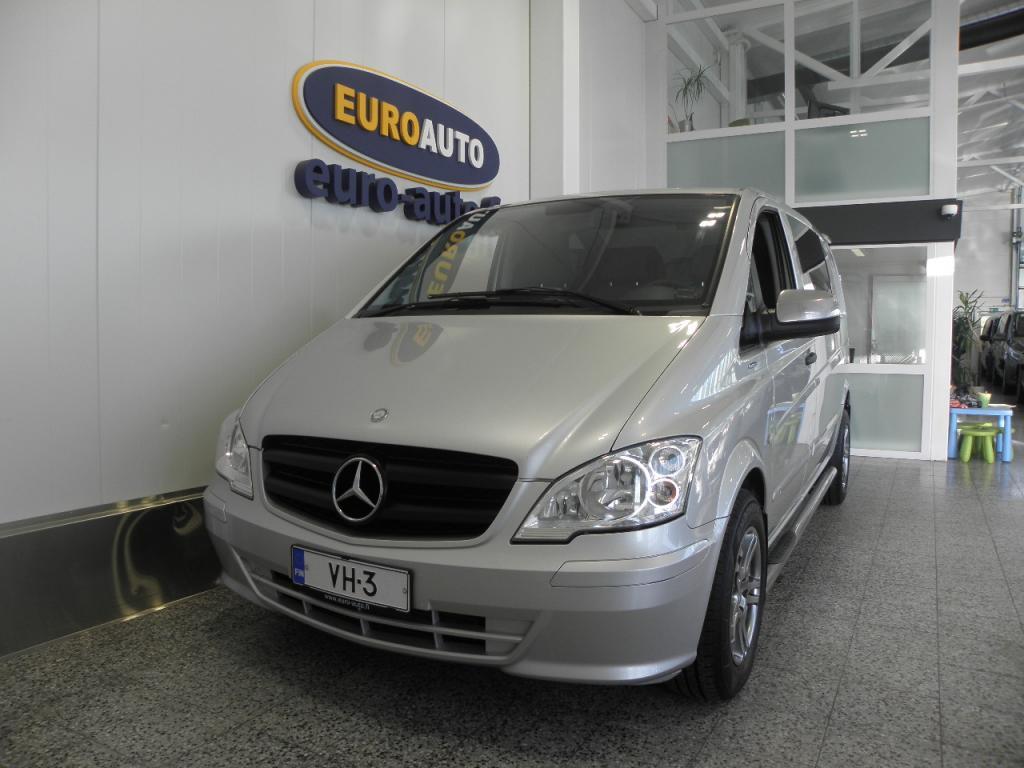 Mercedes-Benz Vito 116CDI 163hv norm. A1 Aut. SIISTI JA HYVIN HUOLLETTU SUOMI AUTO,  WEBASTO,  CRUISE,  SPOILERI,  KYLKIPUTKET,  KOUKKU,  ALUT.
