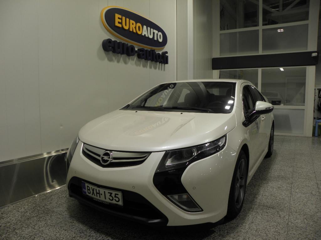 Opel Ampera 5-ov Cosmo 1, 4 E-REV 111kW AT,  HELMIÄISVALKOINEN,  NAVI,  BOSE,  NAHAT,  BLUETOOTH,  USB,  KAHDET RENKAAT,  KATSASTUS 04/2021