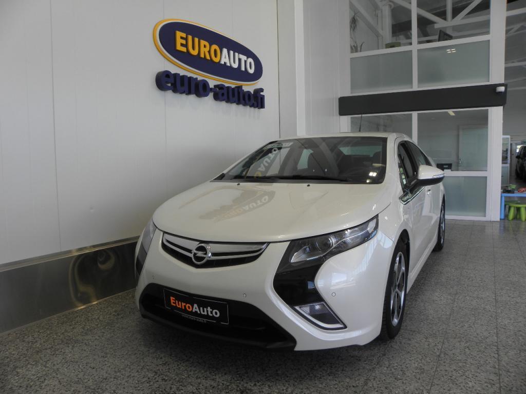 Opel Ampera 5-ov Cosmo 1, 4 E-REV 111kW AT. SIS.ALV. VAIN 299e/KK,  NAHAT,  NAVI,  KAISTAVAHTI,  USB,  CRUISE,  ALUT. HELMIÄISVÄRI,  AUX