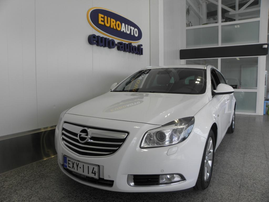 Opel Insignia Sports Tourer Edition 2, 0 CDTI Ecotec DPF 160hv AT,  SUOMI AUTO,  VAIN 140?/KK,  17 TUUMAN ALUT. LOHKIS,  BLUETOOTH,  CRUISE