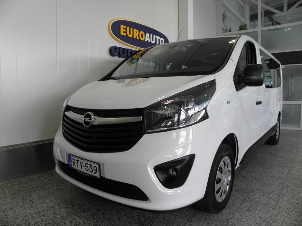 Opel Vivaro Combi L2H1 1, 6 Diesel Start/Stop 89 kW MT6 9-hengen,  1.OMISTEINEN SUOMI AUTO,  NAVI,  WEBASTO,  TEHDASTAKUU,  CRUISE,  USB