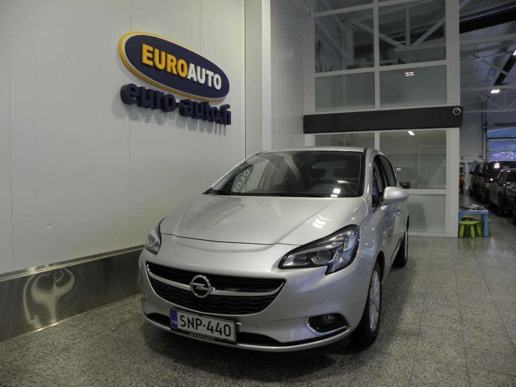 Opel Corsa 5-ov Cosmo 1, 0T ecoFLEX Start/Stop 66kW MT6 SUOMI AUTO,  XENON,  USB,  CRUISE,  BLUETOOTH,  LÄMMITETTÄVÄ OHJAUSPYÖRÄ,  NÄYTTÖ