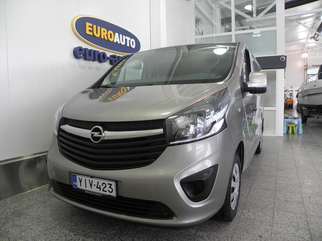 Opel Vivaro Van Edition L1H1 1, 6 CDTI Bi Turbo ecoFLEX 88kW MT6,  SUOMI AUTO,  NAVI,  CRUISE,  WEBASTO,  USB,  BLUETOOTH,  199?/KK