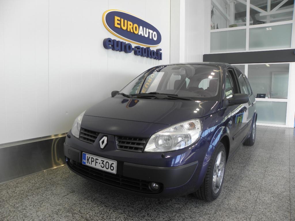 Renault Scenic 2, 0 16V Confort AUTOMAATTI,  7-HLÖ TILA-AUTO,  AUTOMAATTINEN ILMASTOINTI,  ISOFIX,  KAHDET RENKAAT,  JAKOHIHNA VAIHDETTU,