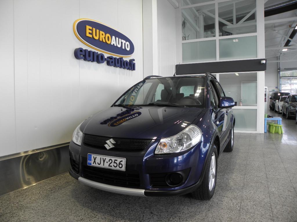 Suzuki SX4 1, 6 4wd SUOMI AUTO,  ILMASTOINTI,  ALUMIINIVANTEET,  KAHDET RENKAAT,  ISOFIX,  METALLIVÄRI,  KATTOKAITEET,  VAIN 110e/KK