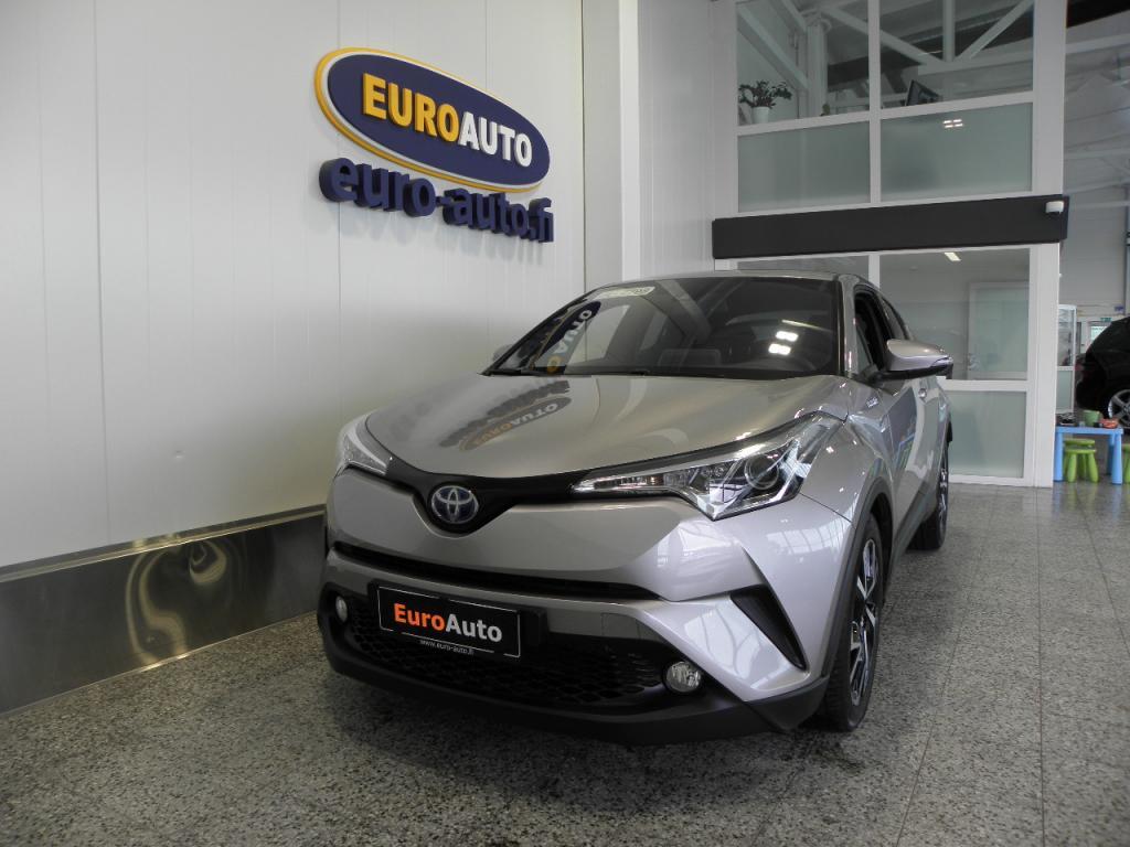Toyota C-HR 1, 8 Hybrid Trend Aut. SIS.ALV. KUIN UUSI,  TEHDASTAKUU,  TOYOTA TOUCH,  ADAPTIIVINEN CRUISE,  KAISTAVAHTI,  BLUETOOTH,  USB