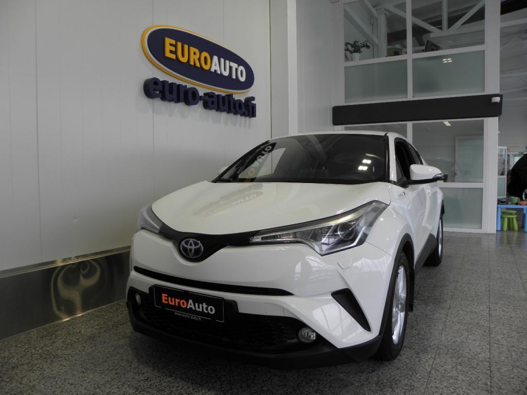 Toyota C-HR Hybrid Crossover 1, 8 HSD,  VAIN 295e/KK,  TOYOTA TOUCH,  AKTIIVINEN CRUISE,  KAUKOVALOAVUSTIN,  BLUETOOTH,  ISOFIX,  USB,