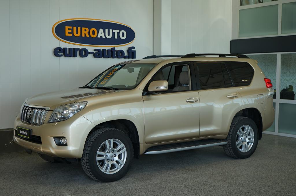 Toyota Land Cruiser 3, 0 D-4D DPF Premium 4WD aut. 7h NAVI,  NAHAT,  KATTOLUUKKU,  BLUETOOTH,  KAMERA,  WEBASTO,  ILMAJOUSITUS,  18