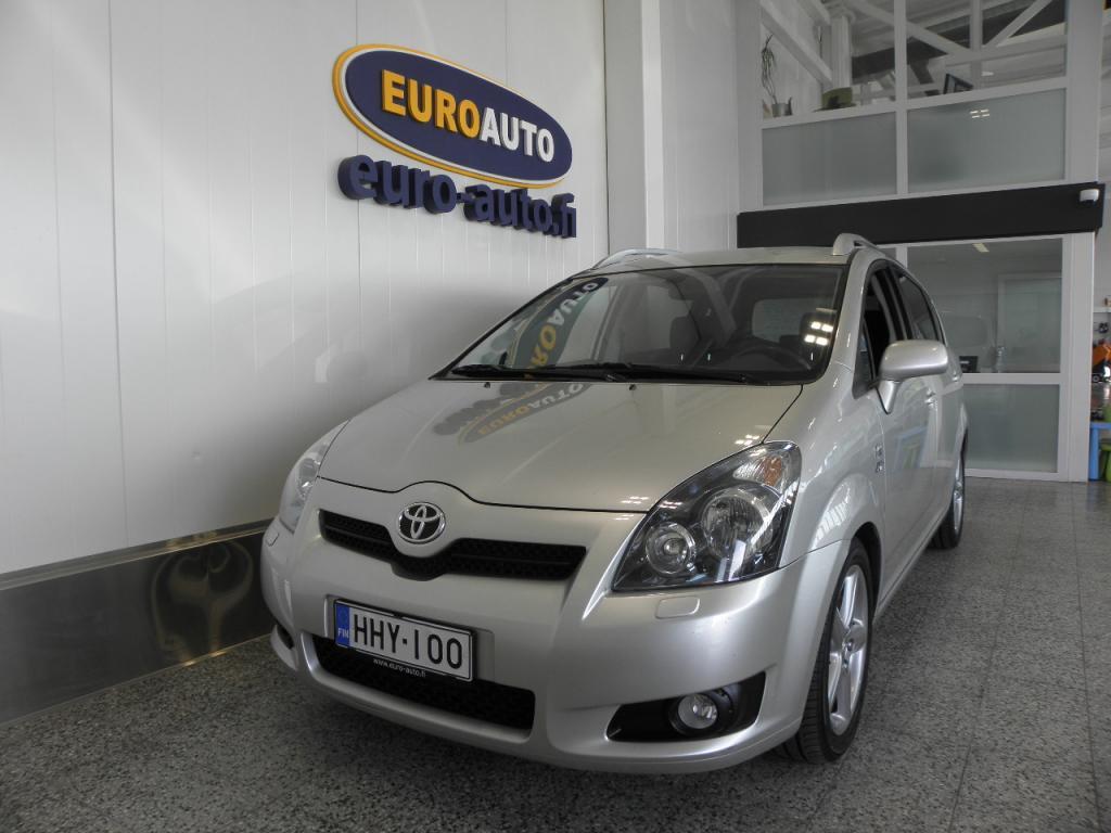 Toyota Corolla Verso 2, 2 D-4D 177 Clean Power Linea Sol Sport 7p,  SUOMI AUTO,  IKÄISEKSEEN VÄHÄN AJETTU! CRUISE,  ALUT. HYV KATS AUT VÄH 1200