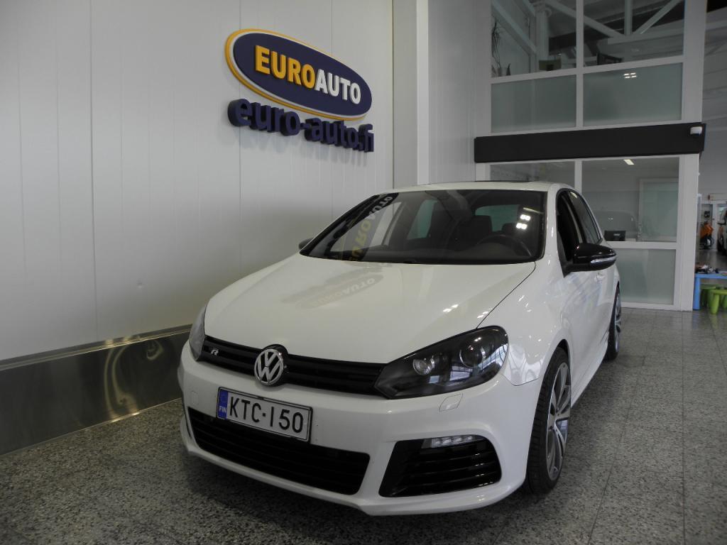 Volkswagen Golf R 2, 0 199 kW (270 hv) 4MOTION DSG-automaatti,  LÄHES AJAMATON,  NAVI,  PERUUTUSKAMERA,  NAHAT,  KATTOLUUKKU,  CRUISE,  DYNAUDIO