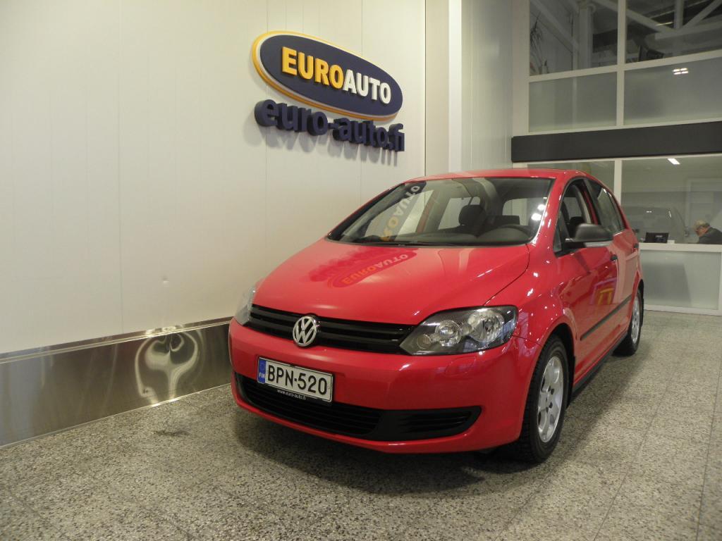 Volkswagen Golf Plus Trendline 1, 2 TSI 63 kW (85 hv),  SUOMI AUTO,  VAIN 150?/KK,  VETOKOUKKU,  KAHDET RENKAAT,  AUX,  LOHKIS,  ALUT. ILMASTOINTI