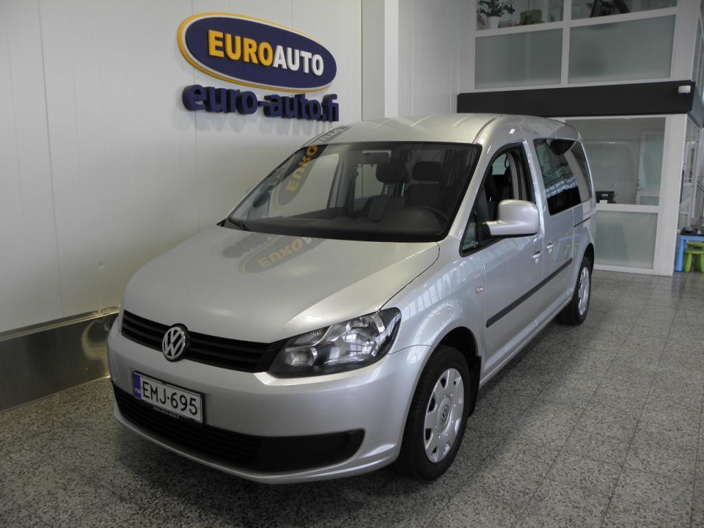 Volkswagen Caddy Maxi Trendline Family 1, 6 TDI 75 kW DSG BlueMotion Technology,  7-HENGEN SUOMI AUTO VAIN 229e/KK,  WEBASTO,  VETOKOUKKU,  CRUISE