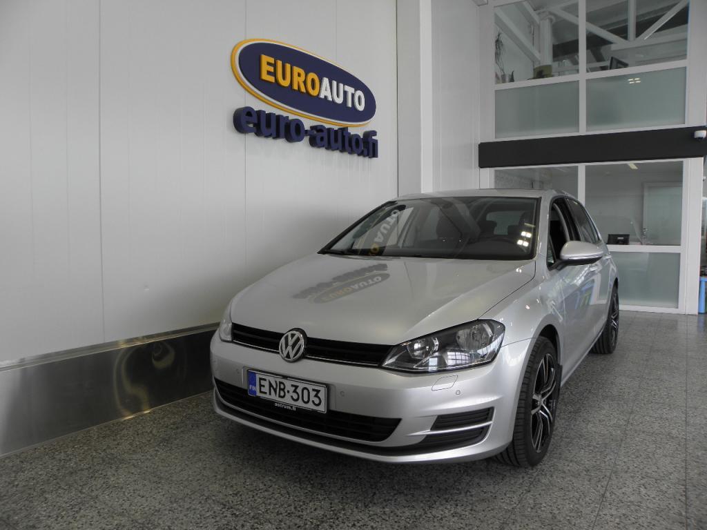 Volkswagen Golf Comfortline 1, 2 TSI 77 kW (105 hv) BlueMotion Technology 5-ovinen,  WEBASTO,  AUX,  17 TUUMAN ALUT. HYV KATS AUT VÄH 1500