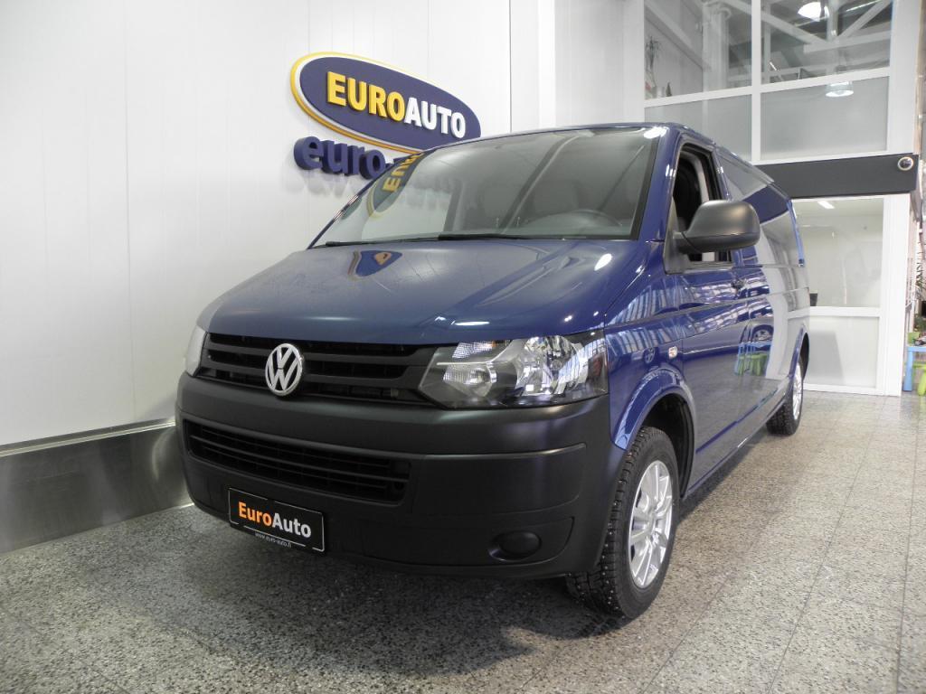 Volkswagen Transporter umpipakettiauto pitkä 2, 0 TDI 102HV,  SIS. ALV. ILMASTOINTI,  ESP,  SOITIN,  VETOKOUKKU,  TURVATYYNYT,  ALUT,  KAHDET RENKAAT