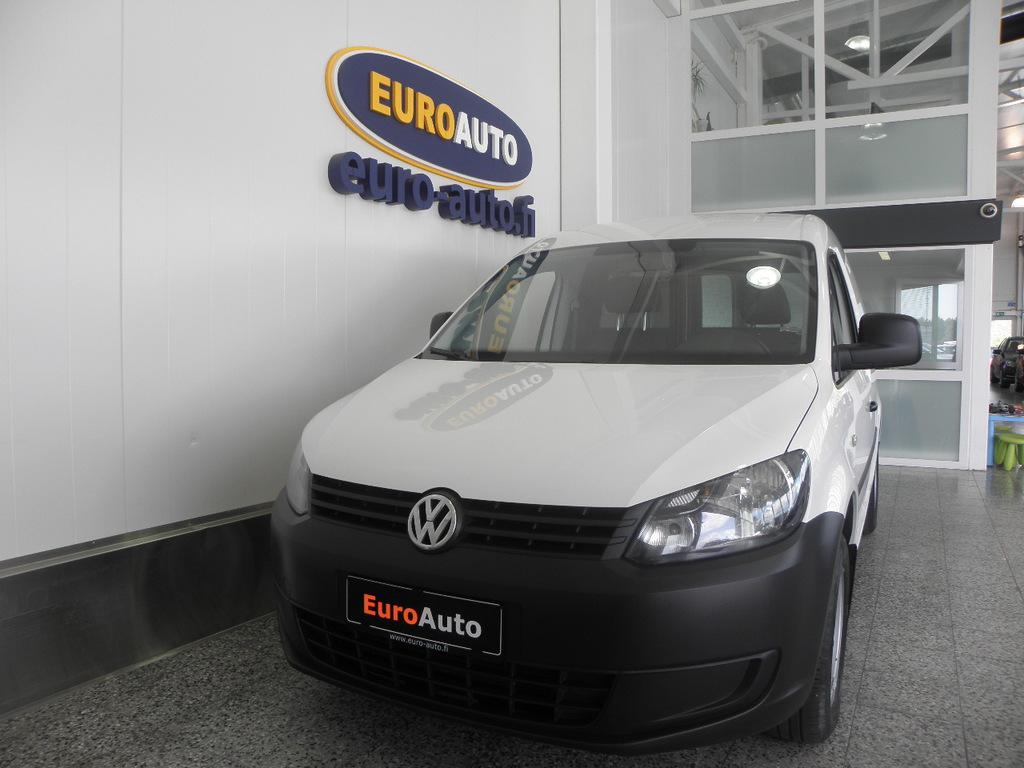 Volkswagen Caddy umpipakettiauto 1, 6 TDI 55kW BlueMotion Technology SIS. ALV. WEBASTO KAUKO-OHJAUKSELLA,  KAHDET RENKAAT,  AUDIO,  CRUISE