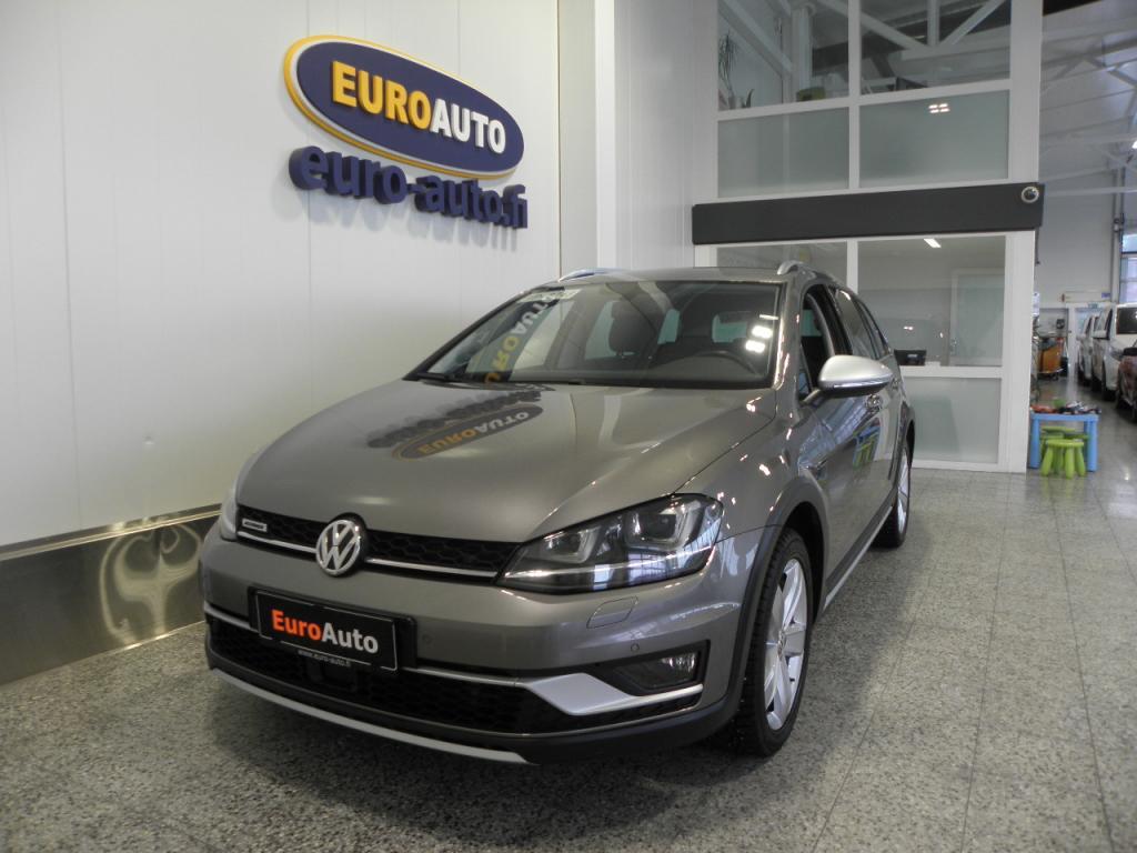 Volkswagen Golf Variant Alltrack 1, 8 TSI 132 kW (180 hv) 4MOTION DSG-automaatti SIS.ALV. AKTIIVINEN CRUISE,  BLUETOOTH,  USB,  AUX,  LOHKIS