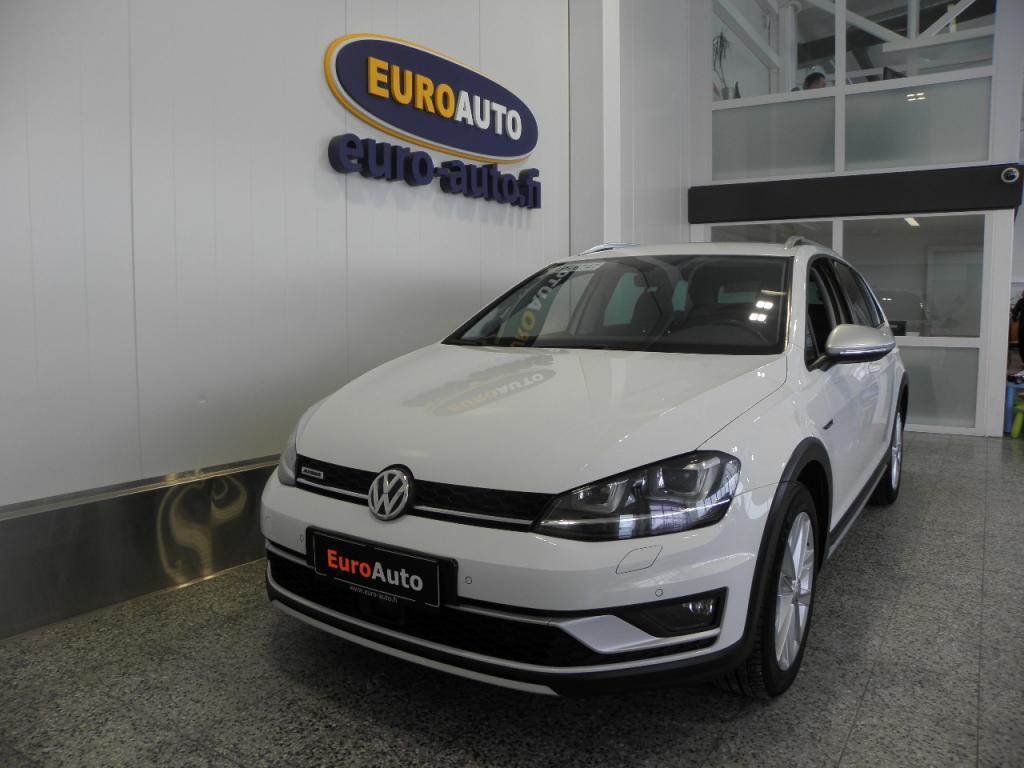 Volkswagen Golf Variant Alltrack 2, 0 TDI 135 kW (184 hv) 4MOTION DSG-automaatti,  SIS. ALV. WEBASTO,  PERUUTUSKAMERA,  VETOKOUKKU,  CRUISE