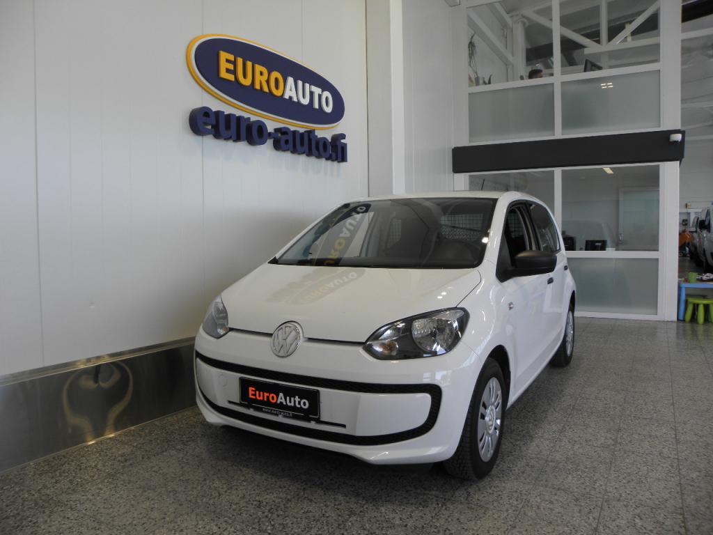 Volkswagen up! eco up! 1, 0 50 kW (68 hv) BlueMotion Technology 4-ovinen,  ALVILLINEN PAKETTIAUTO,  KAASU / BENSA,  AC,  AUX,  KAHDET RENKAAT