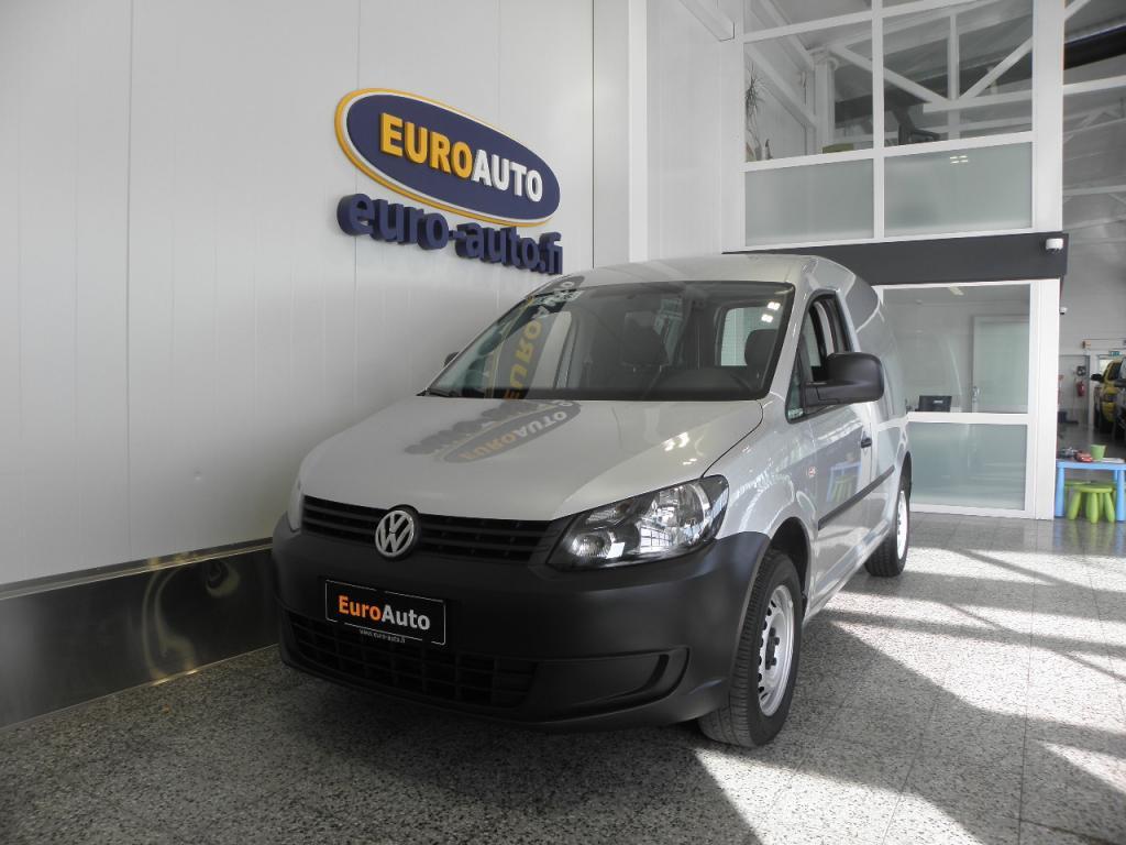 Volkswagen Caddy umpipakettiauto 1, 6 TDI 75kW. BlueMotion Technology,  SIS.ALV. SIISTI JA VÄHÄN AJETTU,  CRUISE,  ILMASTOINTI,  VAIN 220?/KK